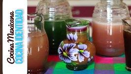 5 aguas frescas de fruta