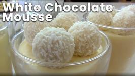 White Chocolate Mousse - Christmas Recipe