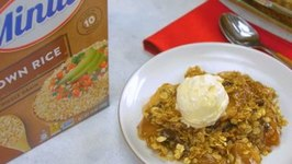 Minute Apple Cinnamon Rice Crisp