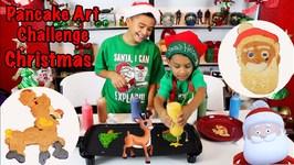Pancake Art Christmas Edition