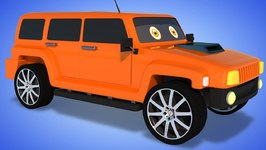 Hummer Formation And Uses - Street Vehicles For Children - Cartoons by Kids Channel