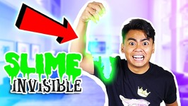 How To Make INVISIBLE SLIME - No Borax