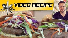 Sausage Burgers With Slaw