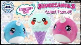Adorable Squeezamals Series 2 & Desserts
