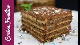 Chocotorta argentina con chocolinas auténticas, recetas de tartas