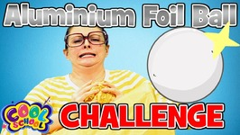 Arts and Crafts with Crafty Carol - Aluminium Foil Ball Challenge - Cartoon for kids - DIY for Kids