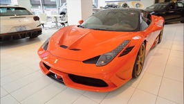 Here's Why A TAILOR MADE Ferrari 458 Speciale is worth 399,000