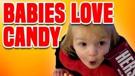 Babies Love Halloween Candy - Funny Halloween Compilation