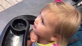 Little Girl Is Convinced Batman Statue Is Her Dad