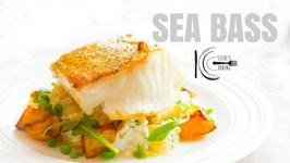 Wild Sea Bass With Horseradish Tarragon Potato Salad