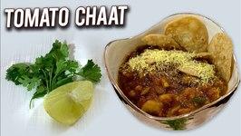 How To Make Tomato Chaat - Banarasi Style Tamatar Ki Chaat - Quick And Easy Snacks Recipe - Ruchi
