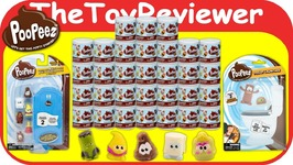 Poopeez - Surprise Box Blind Bags Cartoon Collectible Squishy Unboxing Toy Review