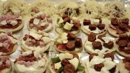 Minis Pizza À L'emmental
