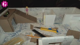 How to Make a Cardboard Dollhouse for Polly Pocket Dolls