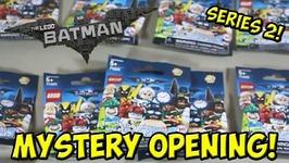 LEGO Batman Movie- Minifigure Series 2 Mystery Opening