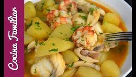 Receta para hacer suquet de pescado y marisco - Recetas para Navidad