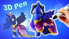 3D Pen Princess Luna Coronation Dress Custom DIY