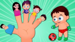 Baby Finger Family Song - Finger Family Nursery Rhymes for Children and Toddlers