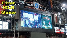 We Were on the Jumbotron - First MLB Game for D and D