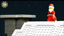How Santa Claus Got Stuck In The Chimney Lego Christmas