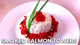 Smoked Salmon Towers