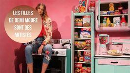 Demi Moore, fière de ses filles à la Fashion Week