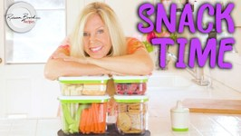 DIY After School Fresh Snack Ideas - Healthy And Fun For Kids