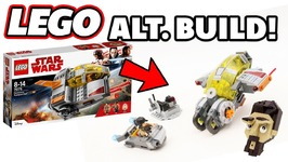 Alt Build - Lego Star Wars Resistance Transport Pod - Blade Runner - Inspired Speeder