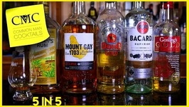5 Rum Reviews In 5 Minutes: Gosling's, Bacardi, Don Q, Mount Gay And Myers's