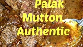 Saag Meat Or Mutton Palak