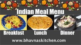 Meal Planning Episode 4/ Indian/ Breakfast-Poha, Lunch- Stuffed Paratha, Dinner -Rice With Rajma