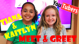 Meet Greet Tiana and Kaitlyn - Ep 1