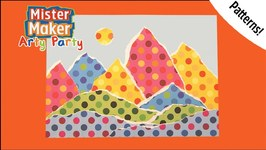 Pattern Creation - Arty Party - Mister Maker