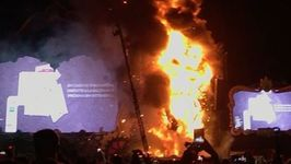 Huge Fire at Tomorrowland Festival Stage Forces Evacuation