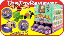 Full Case Surprizamals Series 5 Blind Bags Plush Surprise Animal Unboxing Toy Review