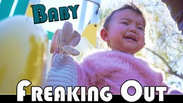 BABY FREAKS OUT AT THE PARK - FAMILY DAILY VLOG