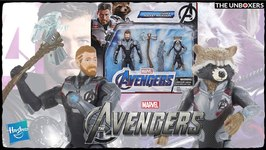 Avengers Endgame Thor & Rocket Action Figures