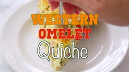 Western Omelette Quiche