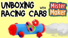 Unboxing Racing Car Mini Make With Mister Maker