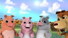 Three Tiny Naughty Piggies - My Chocolo Dog - Nursery Rhymes And Children's Songs
