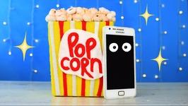 DIY Popcorn Phone Docking Station