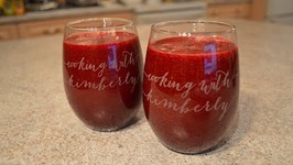How To Make Beet, Pear And Pomegranate Juice