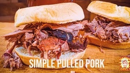 Simple Basic Pulled Pork on the Slow and Sear Kamado Grill