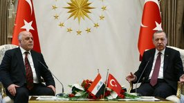 First Official Welcome for Iraqi Prime Minister in Turkey After Kurds Freeze Independence Referendum