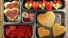 Valentine's Day School Lunch