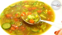 Best Clear Vegetable Soup With Bone Broth In 15 Minutes