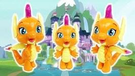 Smolder Transformation from Spike - My Little Pony Custom Tutorial