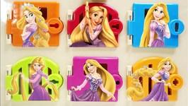 Tangled Rapunzel Trapped Doors Disney Princess Surprises