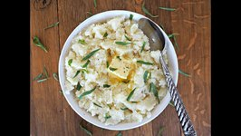 Side Dish Recipe- Buttermilk And Tarragon Mashed Potatoes
