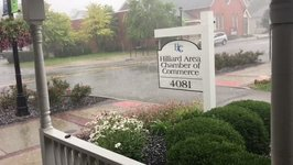 Harsh Hail Storm Pounds Down On Hilliard Chamber of Commerce